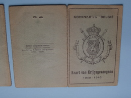 Kaart Van KRIJGSGEVANGENE : GEERAERTS Frans Antwerpen 10-4-09 ( Van 26-5-'40 Tot 12-1-41 In Stalag X B N° 17329 ) ! - Documents