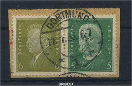 DR 1932 ZD Nr W28 Sauber Gestempelt (89729) - Zusammendrucke