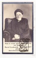 DP Foto - Maria E. DeSimpel ° Staden 1855 † 1939 X Karel L. Hallaert (° Beernem † Ieper X Camerlynck / Ypriana ) - Images Religieuses