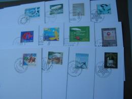 CH Lot FDC  Bis Ca. 2002 - Briefmarken