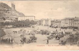 CPA Tournon Place Des Graviers 07 Ardèche - Tournon
