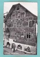 Small Post Card Of Haus Zum Ritter,Schaffhausen, Schaffhausen, Switzerland,V102. - SH Schaffhausen