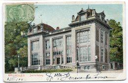 CPA - Carte Postale - Belgique - Bruxelles - Institut Solvay - 1904 (B8911) - Onderwijs, Scholen En Universiteiten
