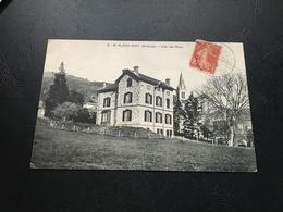5 - ST ALBAN D'AY (Ardeche) Villa Des Rieux - 1918 Timbrée - France