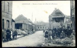 Cpa Du 59 Annoeullin  -- Ruines à L' Entrée De La Rue De La Bouvaque     PZ11 - Zonder Classificatie