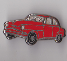 PIN'S THEME AUTOMOBILE SIMCA   ARONDE  ROUGE - Badges