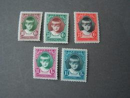 Kinderhilfe 1929  213-217 ** MNH - Luxembourg