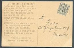 1 Centime Gris PREO JODOIGNE GELDENAEKEN Sur CP 1911 Vers Bruxelles - TB - 13988 - Precancels
