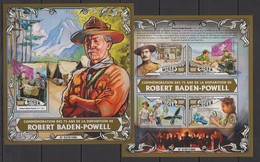 ST1839 2016 NIGER SCOUTING BOY SCOUTS COMMEMORATION BADEN-POWELL KB+BL MNH - Other