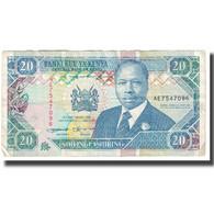 Billet, Kenya, 20 Shillings, 1993, 1993-09-14, KM:31a, TTB - Kenia