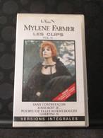 K7 VHS MYLENE FARMER -LES CLIPS - Concert Et Musique