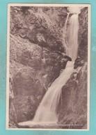 Small Post Card Of Ess-na-Larach Waterfall, Glenariff Forest Park, County Antrim, Northern Ireland.V102. - Antrim / Belfast