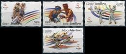 236 - Laos 2000  YT 1395-98 ; Mi# 1727-30 **  MNH  Summer Olympics, Sydney - Laos