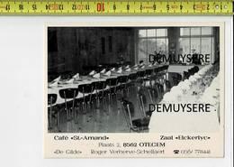 51182 - CAFE ST AMAND ZAAL ELCKERLYC OTEGEM - Zwevegem