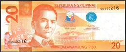 Philippines 20 Pesos 2012  UNC - Filipinas