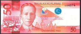 Philippines 50 Pesos 2010  UNC - Filippine