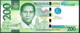 Philippines 200 Pesos 2010  UNC - Filippine