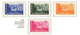 South Viet Nam - 1960 - SC 140 - 143 - Model Farm - MNH - Viêt-Nam