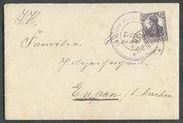 15 Pfg Germania Obl. Dc BEUEL *** Sur Enveloppe Avec Conteu Du 27-12-1918 Vers EUPEN + Dc Violet CENSURE MILITAIRE EUPEN - WW I