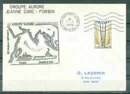 MARCOPHILIE - P.H.JEANNE D'ARC - FORBIN GROUPE AURORE 1975 - 1976 Cachet Du 25 - 3 - 1976 - Marcophilie (Lettres)