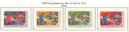 South Viet Nam - 1959 - SC 108 - 111 - Trung Sisters And Elephants - MNH - Vietnam