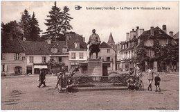 LUBERSAC LA PLACE ET LE MONUMENT AUX MORTS TBE - Altri Comuni
