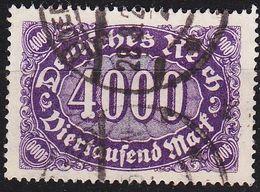 GERMANY REICH [1922] MiNr 0255 ( O/used ) - Germany