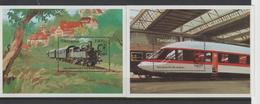 Tanzanie 1995 Trains BF 253 Et 254 ** MNH - Tansania (1964-...)