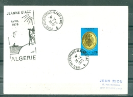 MARCOPHILIE - P.H.JEANNE D'ARC Escale En ALGERIE AVRIL 1975 Cachet Rond Du 14 - 4 - 1975. - Marcophilie (Lettres)
