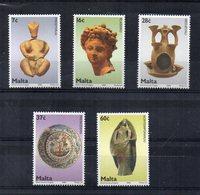 Malta - 2006 - Ceramica Artistica - 5 Valori - Nuovi - Vedi Foto - (FDC15859) - Malta