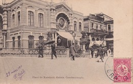 TURQUIE 1911   CARTE POSTALE DE CONSTANTINOPLE PLACE DE KARAKEUÏ - Turchia