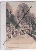Algérie : Route De Bougie à Sétif - Les Gorges Du Chabert - Pain De Sucre.(voir Publicité Au Dos ) - Autres Villes