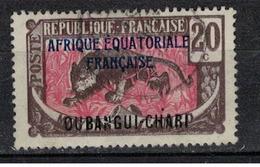 OUBANGUI          N° YVERT  :   50    OBLITERE     ( OB   03/59  ) - Oubangui (1915-1936)