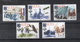 Malta - 2005 - Anniversario Della Fine Della II^ Guerra Mondiale - 5 Valori - Nuovi - Vedi Foto - (FDC15861) - Malta