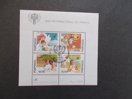 PORTUGAL   - BLOCS FEUILLETS  N° 28  Année 1979  Oblitéré 1er Jour  ( Voir Photo )  20 - Blokken & Velletjes