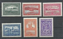 YUGOSLAVIA  YVERT  225/30   MNH  ** - 1931-1941 Reino De Yugoslavia