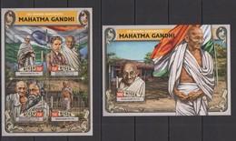 ST1929 2016 NIGER GREAT HUMANISTS MAHATMA GANDHI KB+BL MNH - Mahatma Gandhi