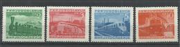 YUGOSLAVIA  YVERT  523/26   MH  * - 1945-1992 República Federal Socialista De Yugoslavia