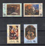 Malta - 2005 - Arte - Quadri - 4 Valori - Nuovi - Vedi Foto - (FDC15862) - Malta