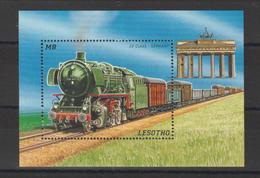 Lesotho 1996 Trains BF 119 ** MNH - Lesotho (1966-...)