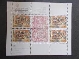 PORTUGAL   -  BLOCS FEUILLETS  N° 36   Europa Cept    Année 1982  Neuf XX   ( Voir Photo )  35 - Blocs-feuillets