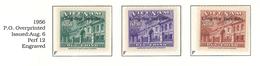 South Viet Nam - 1956 - Sc 51-52 - Post Office - Overprinted - MH - Viêt-Nam
