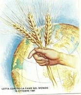 1981 - Sovrano Militare Ordine Di Malta - Lotta Alla Fame Nel Mondo - Intero Postale     8/33 - Alimentazione