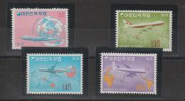 Corée Du Sud 1973 Avions Série PA 37-40 4 Val ** MNH - Corée Du Sud