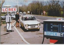 CPM 49 CHALONNES SUR LOIRE ... 1985 . Route De Saint Georges . La Station Glorex () Ford Pompiste - Chalonnes Sur Loire