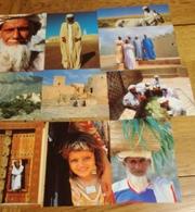OMAN Série De 10 Cartes Postales Des Années 70-80 CPSM/CPM -Non écrites - ARABE D'OMAN Parfaites - Cartoline