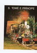 Sao Tome-1991-Trains à Vapeur-MI B253***MNH-Valeur 9 Euro - Sao Tome Et Principe