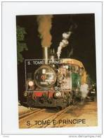 Sao Tome-1991-Trains à Vapeur-MI B254***MNH-Valeur 9 Euro - Sao Tome Et Principe