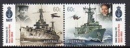 AUSTRALIA, 2011 NAVY CENTENARY PAIR MNH - Nuevos