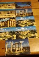 LIBYE LIBIA Série De 9 C P Des Années 70-80 CPSM/CPM -Welcome To Libya Leptis Magna, Cyrene...,) Non écrites - Parfaites - Cartes Postales